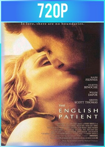 El paciente inglés (1996) BRRip HD 720p Latino Dual