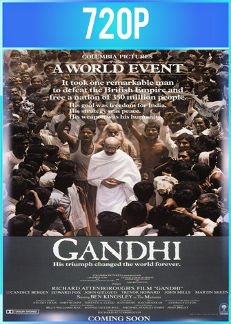 Gandhi (1982) BRRip HD 720p Latino Dual