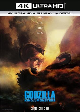 Godzilla II: el rey de los monstruos (2019) 4K Ultra HD Latino Dual