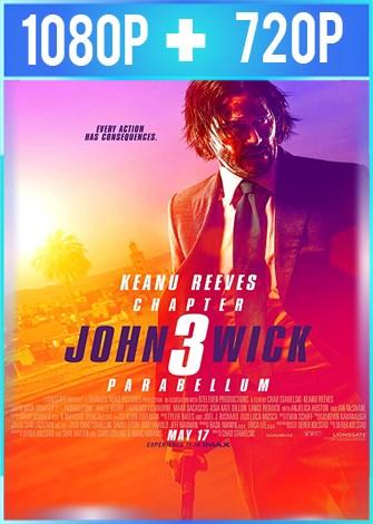 John Wick 3 Parabellum (2019) HD 1080p y 720p Latino Dual