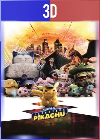 Pokémon: Detective Pikachu (2019) 3D SBS Latino Dual