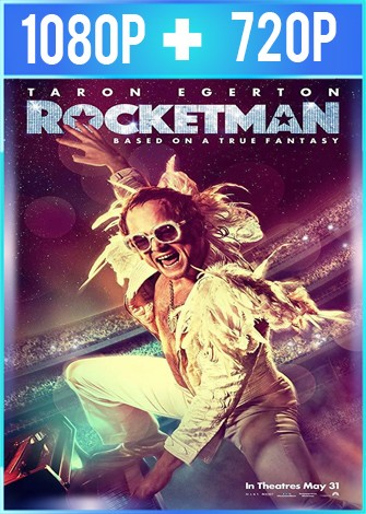 Rocketman (2019) HD 1080p y 720p Latino Dual