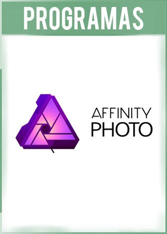 Serif Affinity Photo Versión 1.7.2.471 Full Español