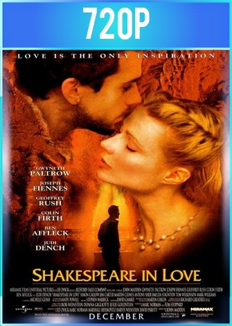 Shakespeare apasionado (1998) BRRip HD 720p Latino Dual