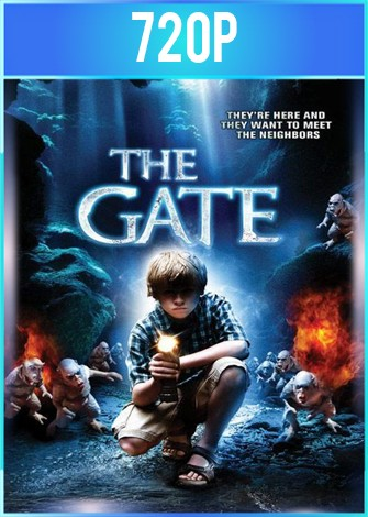 The Gate [Tunel al Infierno] (1987) BRRip HD 720p Latino Dual