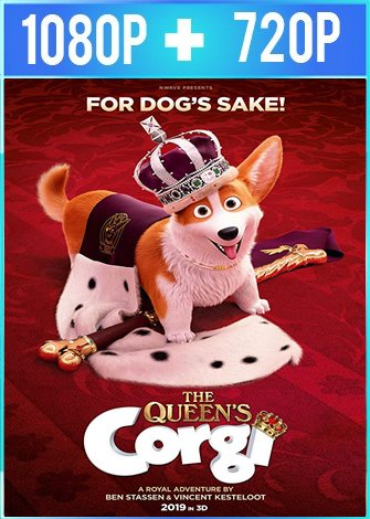 Corgi: un perro real (2019) HD 1080p y 720p Latino Dual