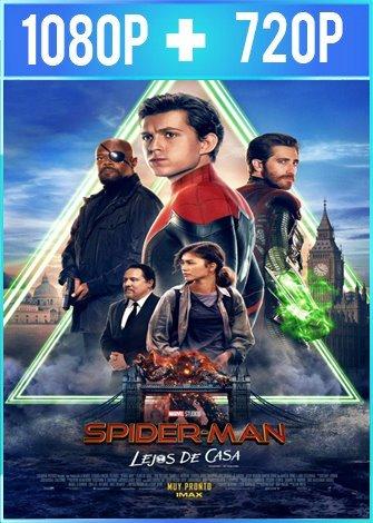 Spider-Man: lejos de casa (2019) HD 1080p y 720p Latino Dual