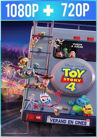 Toy Story 4 (2019) HD 1080p y 720p Latino Dual