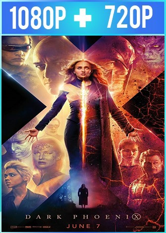 X-Men: Dark Phoenix (2019) HD 1080p y 720p Latino Dual