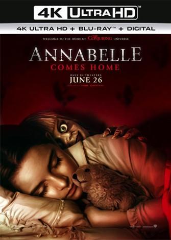 Annabelle 3 Viene a casa (2019) 4K Ultra HD Latino Dual
