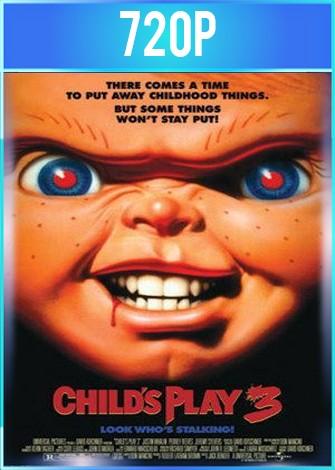 Chucky El muñeco diabólico 3 (1991) BRRip HD 720p Latino Dual