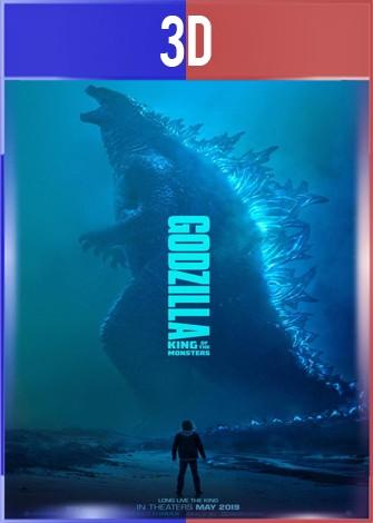 Godzilla 2 El rey de los monstruos (2019) 3D SBS Latino Dual