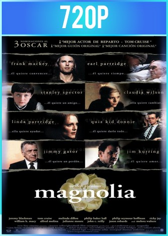 Magnolia (1999) BRRip HD 720p Latino Dual