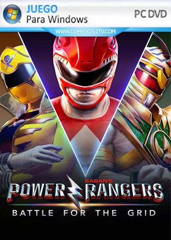 Power Rangers Battle for the Grid (2019) PC Full Español