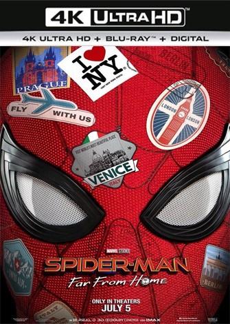 Spider-Man: lejos de casa (2019) 4K Ultra HD Latino Dual