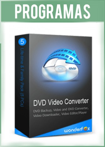 WonderFox DVD Video Converter Versión Full Español
