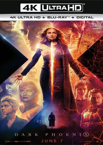 X-Men Dark Phoenix (2019) 4K Ultra HD Latino Dual