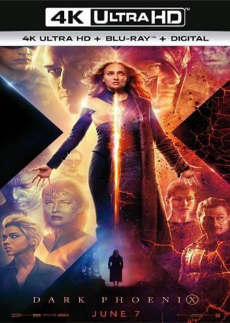 X-Men Dark Phoenix (2019) 4K Ultra HD Latino Dual