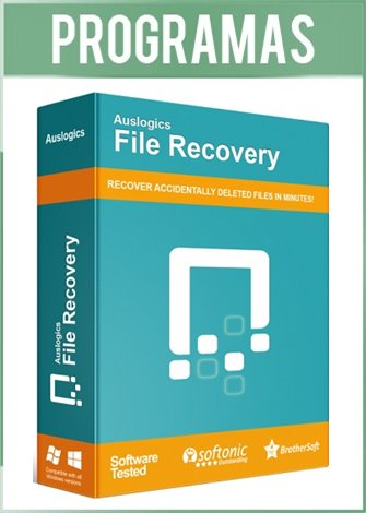 Auslogics File Recovery Professional Full Español