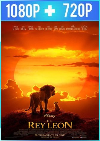 The Lion King [El Rey Leon] (2019) HD 1080p y 720p Latino Dual