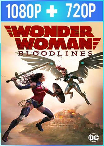 Wonder Woman: Bloodlines (2019) HD 1080p y 720p Latino Dual