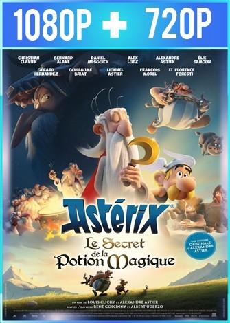 Asterix el secreto de la poción mágica (2018) HD 1080p y 720p Latino Dual
