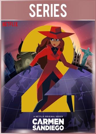 Carmen Sandiego Temporada 2 Completa HD 720p Latino Dual