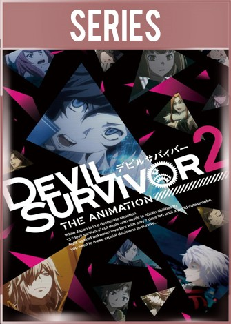 Devil Survivor 2 The Animation Temporada 1 Completa HD 720p Latino Dual