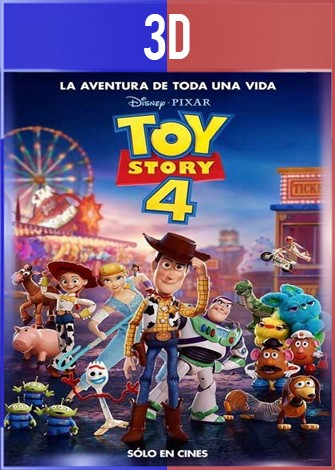 Toy Story 4 (2019) 3D SBS Latino Dual