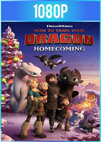 Como entrenar a tu dragon: Regreso a casa (2019) HD 1080p Latino Dual