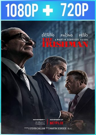 El irlandés [The Irishman] (2019) HD 1080p y 720p Latino Dual