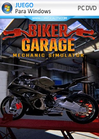 Biker Garage Mechanic Simulator (2019) PC Full Español
