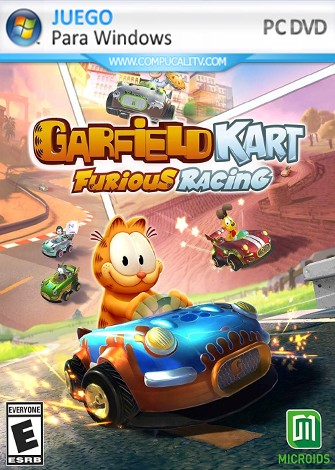 Garfield Kart Furious Racing (2019) PC Full Español