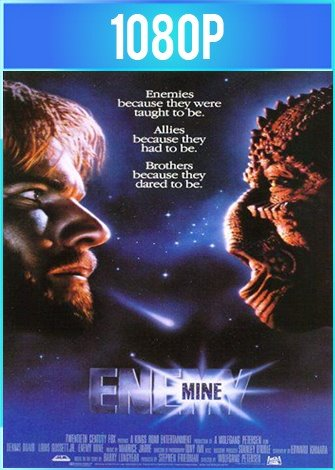 Enemigo mío [Enemy Mine] (1985) HD 1080p Latino Dual