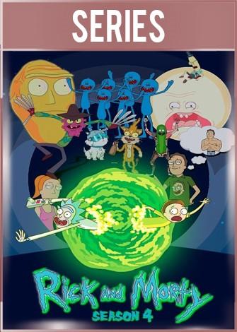 Rick and Morty Temporada 4 HD 1080p Latino Dual