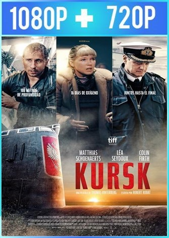 Atrapados: una historia verdadera [Kursk] (2018) HD 1080p y 720p Latino