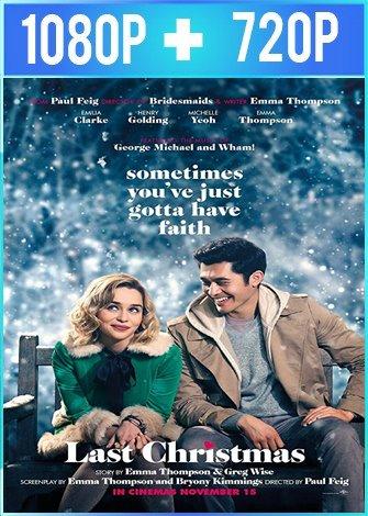 Last Christmas: Otra oportunidad para amar (2019) HD 1080p y 720p Latino Dual
