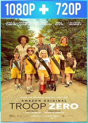 Troop Zero (2019) HD 1080p y 720p Latino Dual