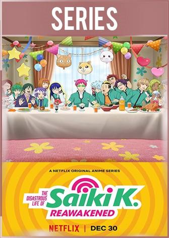 La Vida Desastrosa de SaikiK El Despertar Temporada 1 Completa HD 720p Latino Dual