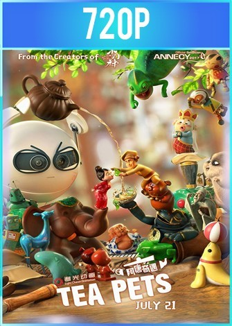 Tea Pets (2017) HD 720p Latino Dual