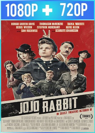 Jojo Rabbit (2019) HD 1080p y 720p Latino Dual