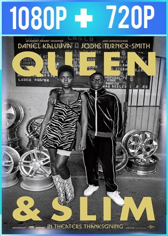 Queen & Slim (2019) HD 1080p y 720p Latino Dual