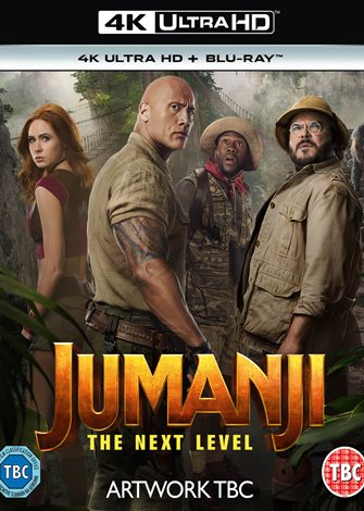 Jumanji: The Next Level (2019) 4K Ultra HD Latino Dual