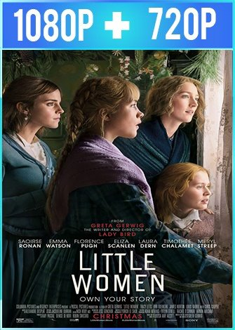 Mujercitas [Little Women] (2019) HD 1080p y 720p Latino Dual