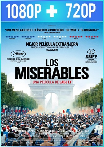 Los miserables (2019) HD 1080p y 720p Latino 5.1 Dual