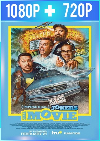 Impractical Jokers The Movie (2020) HD 1080p y 720p Latino 5.1 Dual