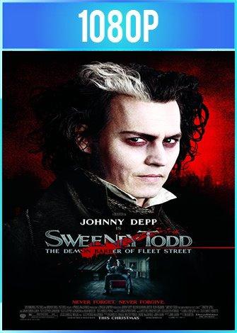 Sweeney Todd: El barbero demoníaco de la calle Fleet (2007) HD 1080p Latino 5.1 Dual