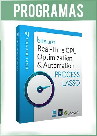 Bitsum Process Lasso Pro Full Español