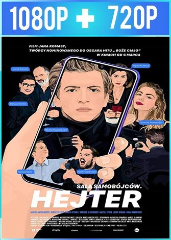 Hater (2020) HD 1080p y 720p Latino Dual
