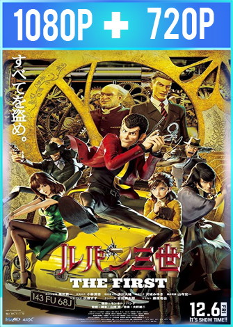 Lupin III: The First (2019) HD 1080p y 720p V.O.S.E